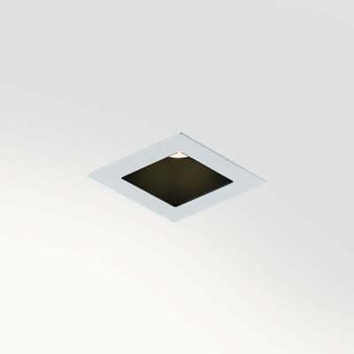 Bitpop 1.0, 3000K, 8W, 30°, white, installation flush with ceiling